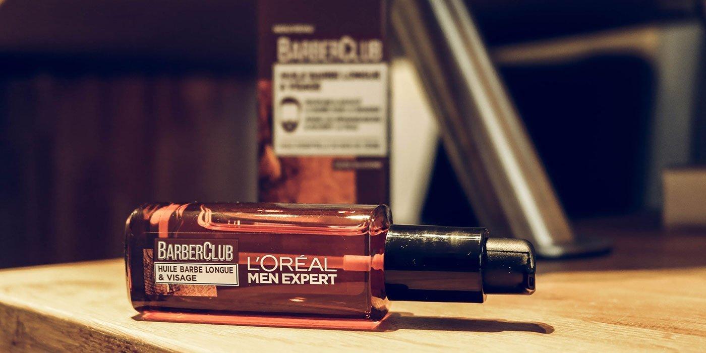 barberclub de loreal huile à barbe