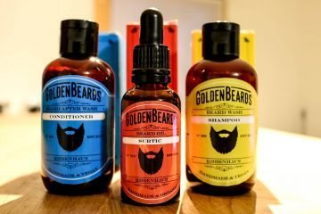 golden beards produits