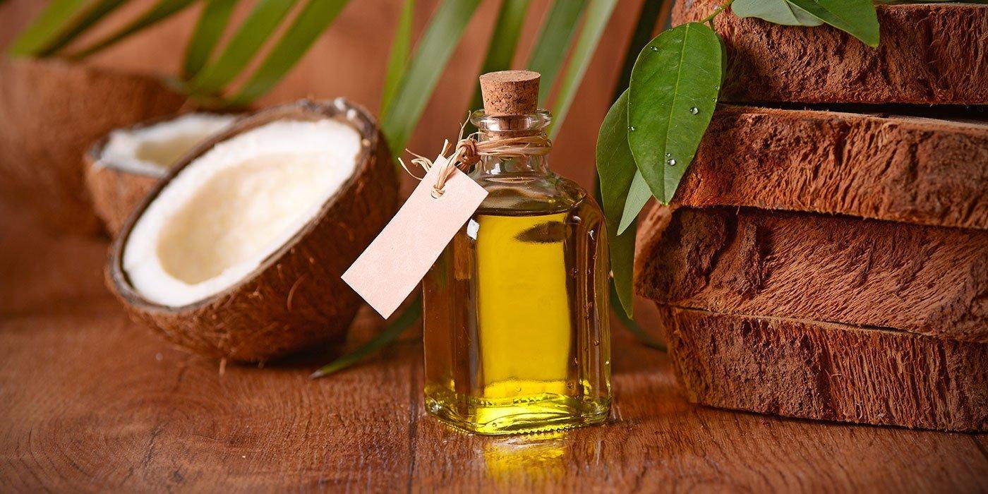 huile de coco et barbe