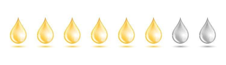 6 gouttes d'huile de barbe