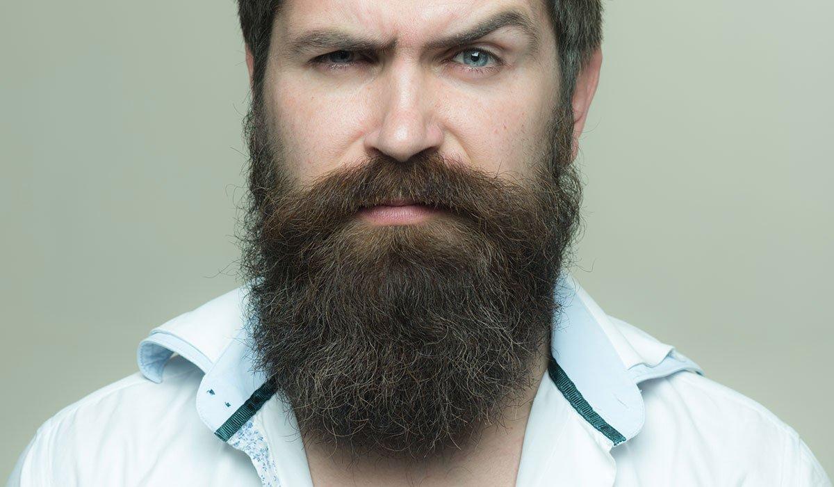 Une longue barbe