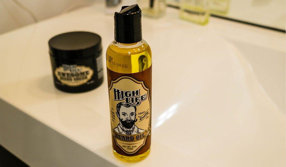 high life huile de barbe