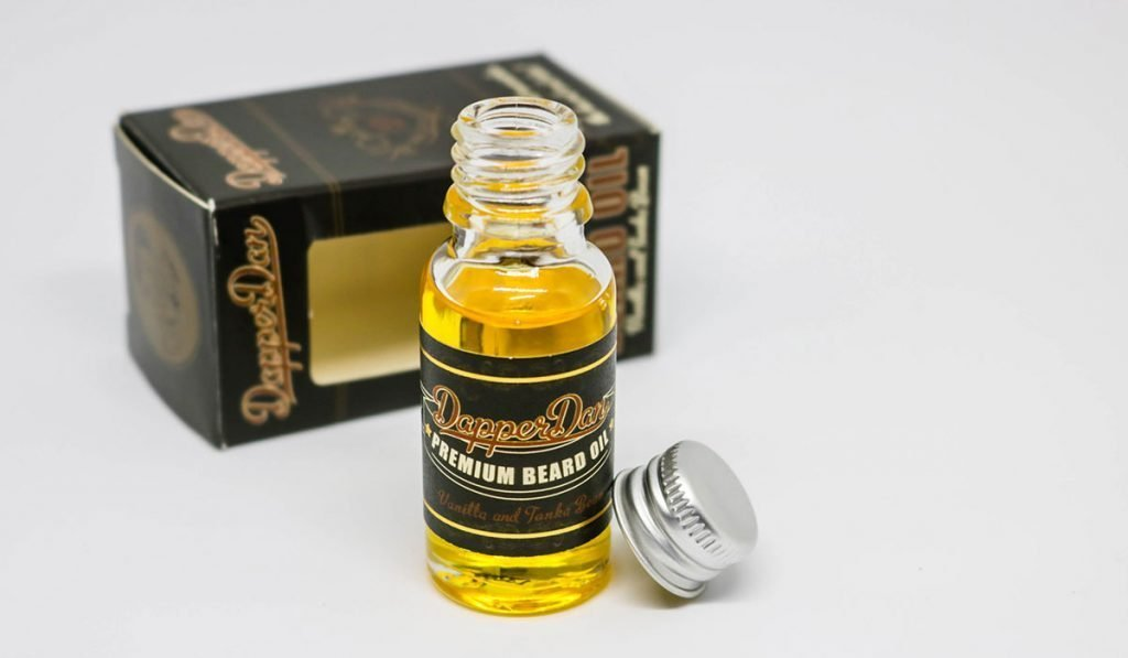 dapper dan, huile pour barbe au parfum incroyable