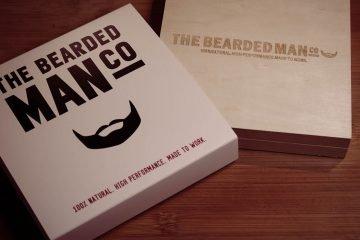 the bearded man company huile de barbe