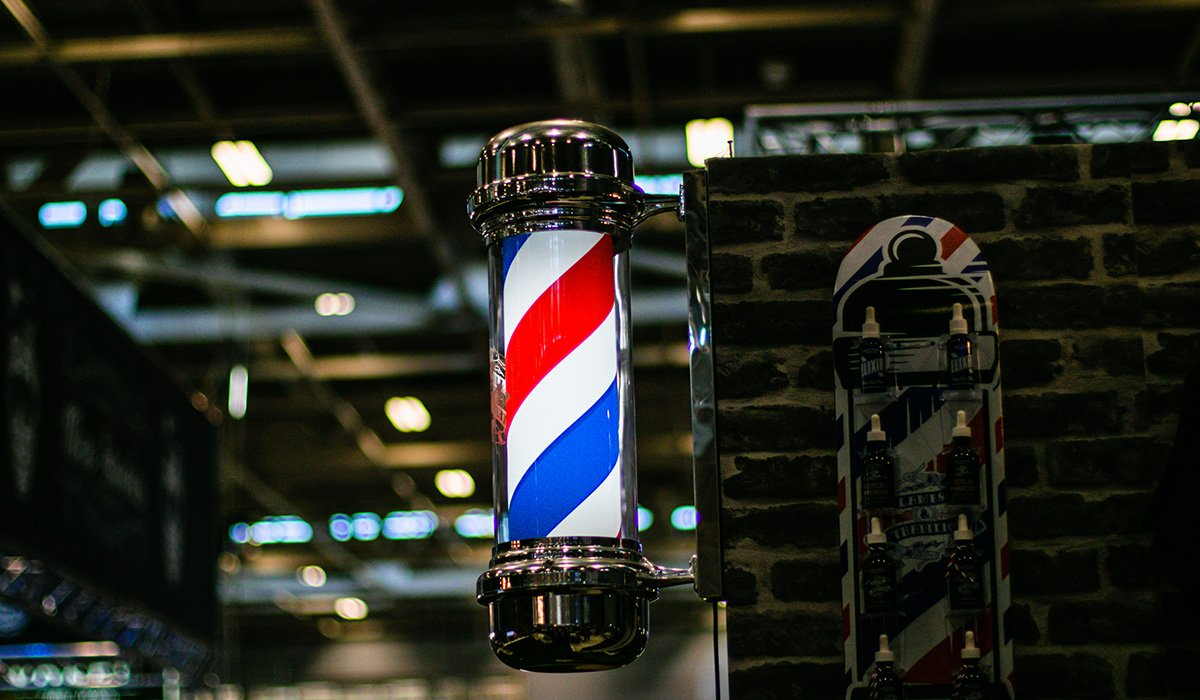 Pôle de barbier