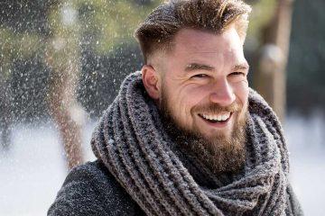 entretenir sa barbe en hiver