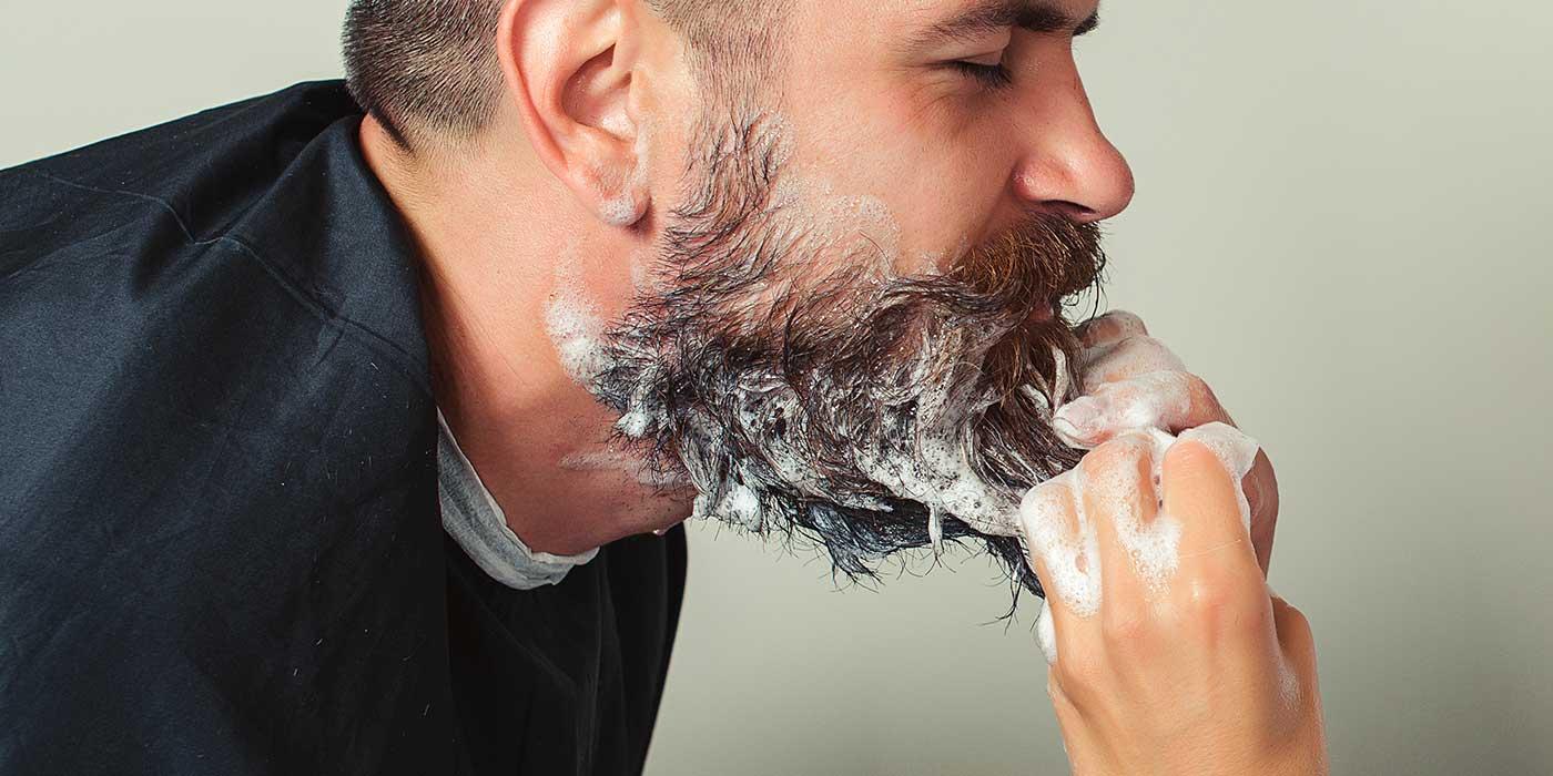 comment nettoyer sa barbe