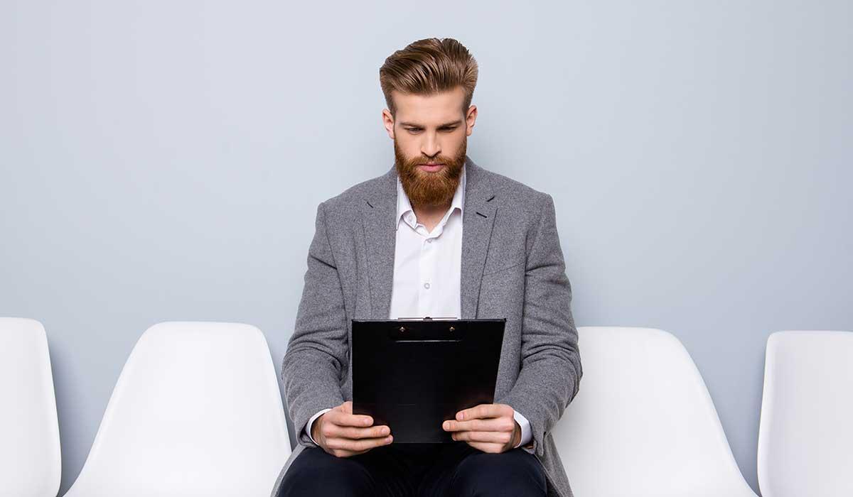style de barbe entretien d'embauche